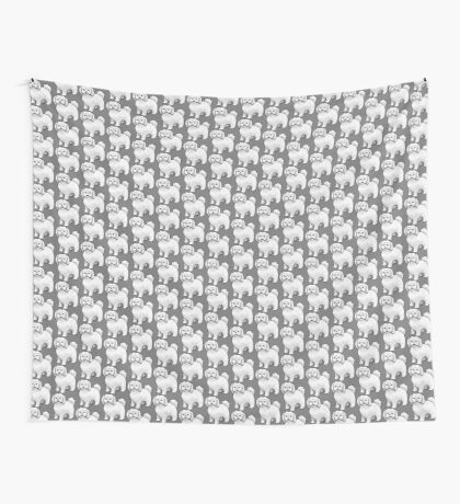 Maltese - Puppy Cut Wall Tapestry