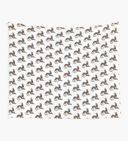 Greyhound - Dark Brindle Wall Tapestry