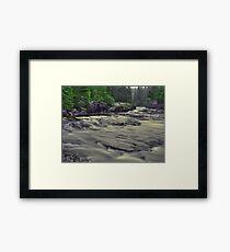 Whitefish River Framed Print