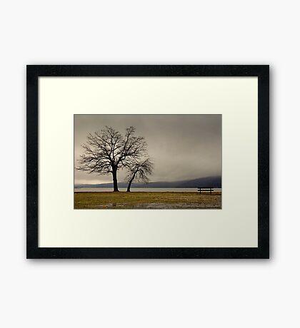 Peekskill Riverfront Framed Print