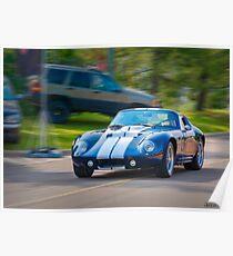 1965 Ford Cobra Daytona Coupe replica Poster