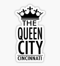 Cincinnati - The Queen City Sticker