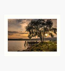 Verplanck Point Sunset  Art Print