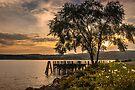 Verplanck Point Sunset  by JHRphotoART
