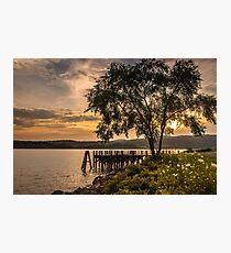Verplanck Point Sunset  Photographic Print
