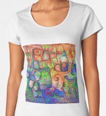 #Deepdreamed abstraction Premium Scoop T-Shirt