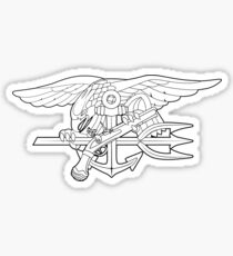 Navy SEALs outline Sticker