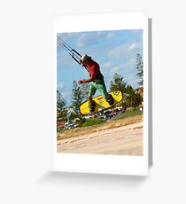 High as a Kite Greeting Card