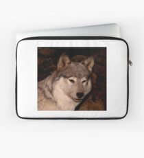 Gray Wolf Laptop Sleeve