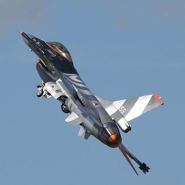 F-16 Fighting Falcon by hartrockets