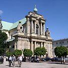 Carmelite Church in Warsaw, Poland by Lukasz Godlewski
