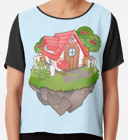 Home Sweet Home Chiffon Top