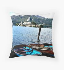Island Magic Throw Pillow