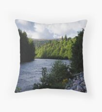 Light on Pines Throw Pillow