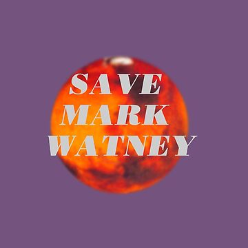 Save Mark Watney  by flapperwitch