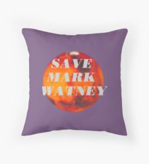 Save Mark Watney  Throw Pillow