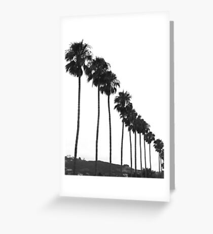 All In A Row Greeting Card
