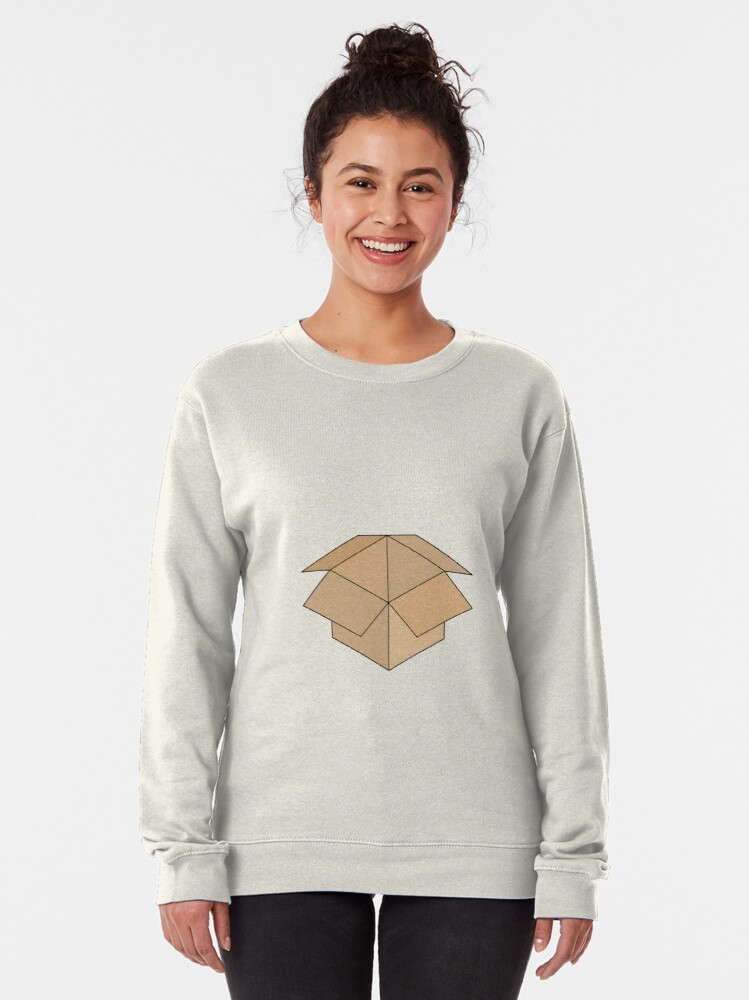 Alternate view of Open Box Line Drawing Pullover Sweatshirt