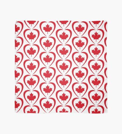 Canadian Patriot Flag Series (Heart) Scarf