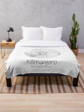 Manta Kilimanjaro | Topographic Map Design (Minimalist)