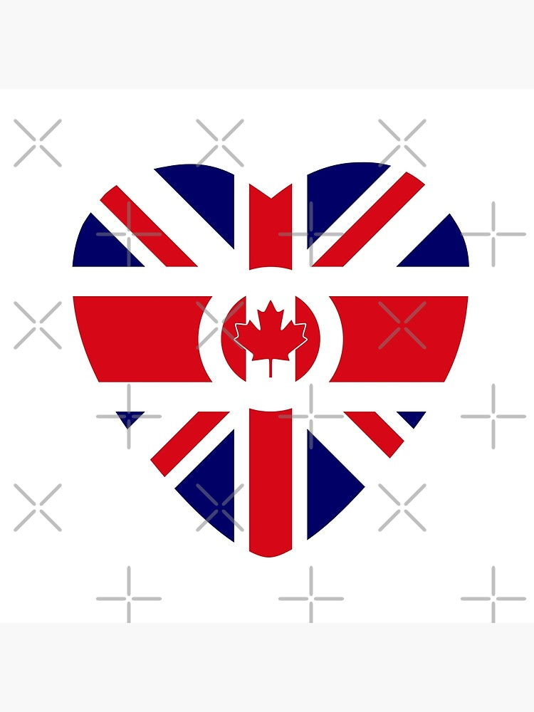 British Canadian Multinational Patriot Flag Series by carbonfibreme