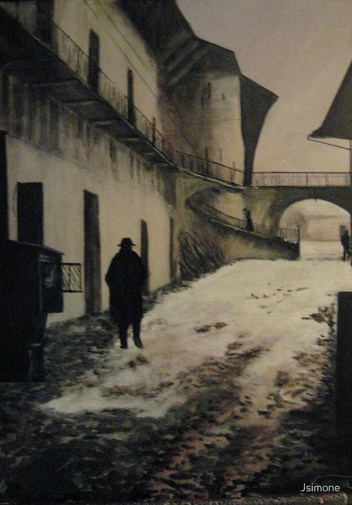 Original work Entering the Ghetto by Roman Vishniac by Jsimone