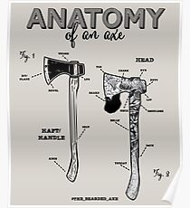 Anatomy of an Axe Poster