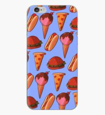 Eat Junk, Become Junk iPhone Case