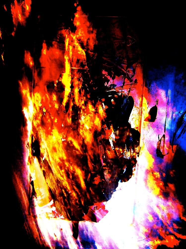 Burning Tree by Briandamage