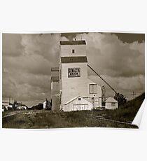 Prairie Icon - Stettler, Alberta Poster
