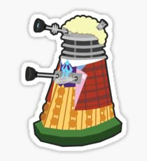 Daleks in Disguise - Sixth Doctor Sticker