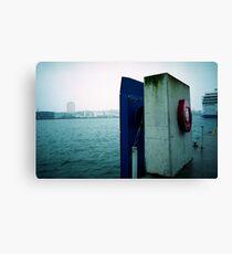 Kiel harbor Canvas Print