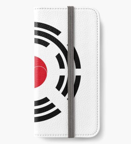 Korean Japanese Multinational Patriot Flag Series iPhone Wallet