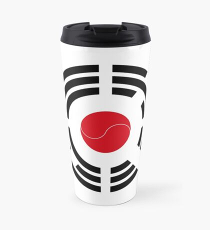 Korean Japanese Multinational Patriot Flag Series Travel Mug
