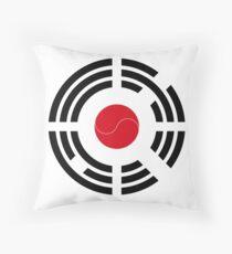 Korean Japanese Multinational Patriot Flag Series Throw Pillow