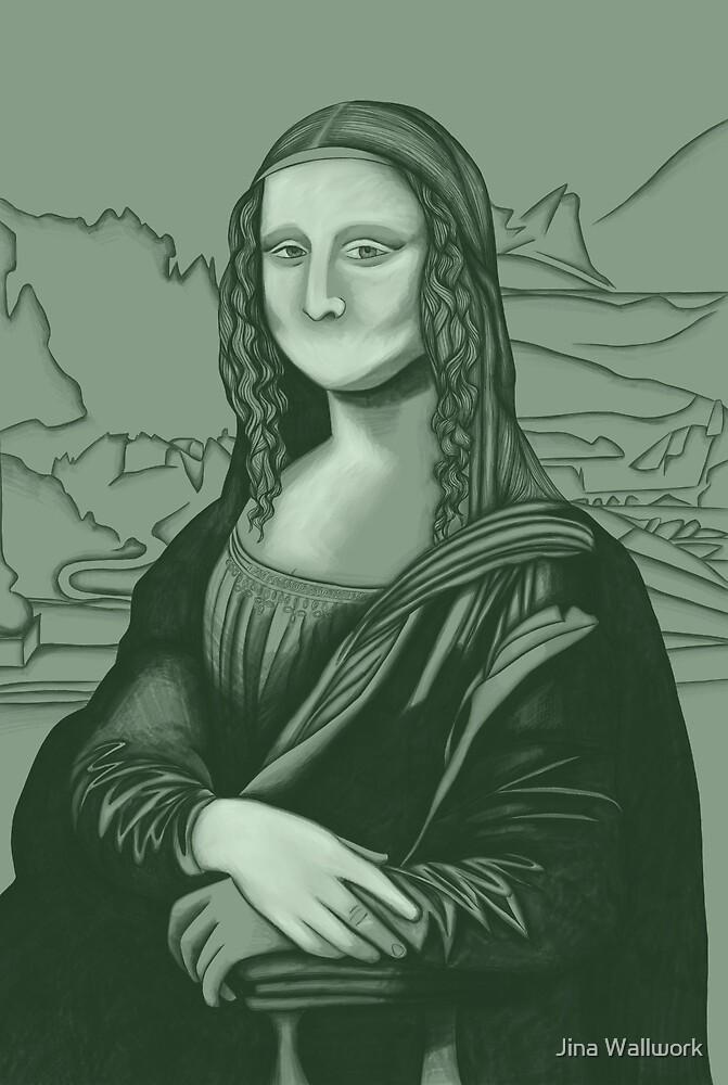 Mona Lisa 72 by Jina Wallwork