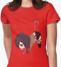 Mikasa in Safety Pin - Shingeki no Kyojin Women's Fitted T-Shirt