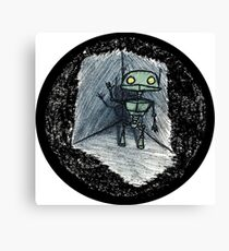 Love's Labours Lost In Space Canvas Print