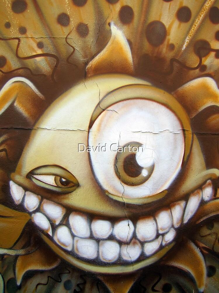 The Eye, Golden Lion Pub, Gloucester Road, Bristol, UK by David Carton