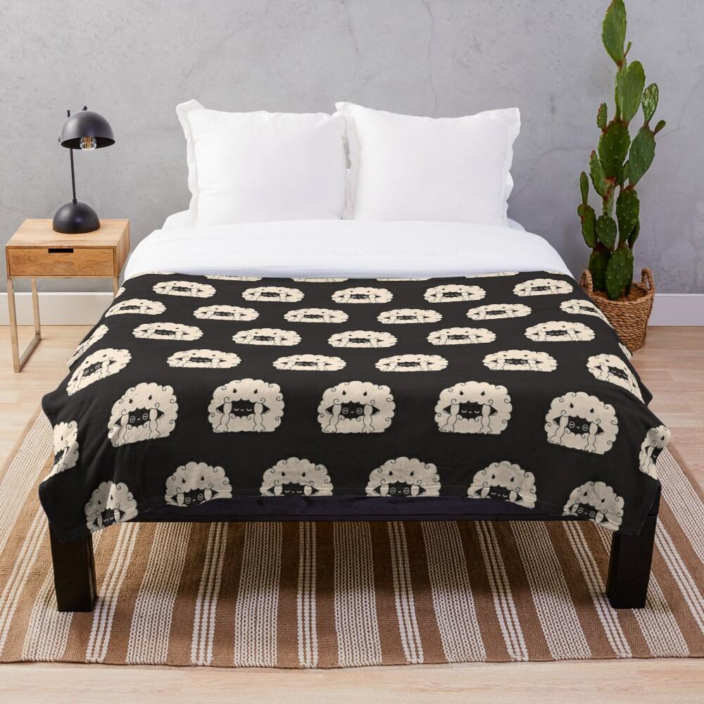 Sleepy Wooloo [A] Throw Blanket