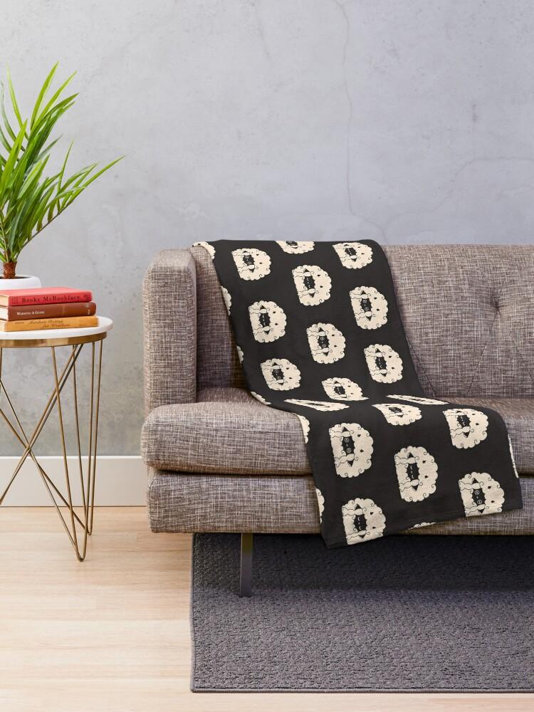 Alternate view of Sleepy Wooloo [A] Throw Blanket