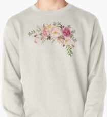 Romantischer Aquarell-Blumen-Blumenstrauß Sweatshirt