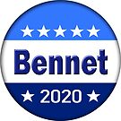 Bennet for President 2020 by BlueWaveUSA