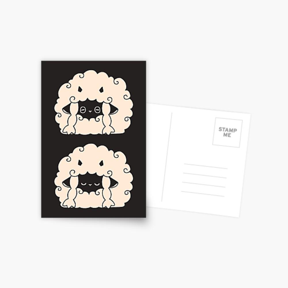 Sleepy Wooloo [A] Postcard