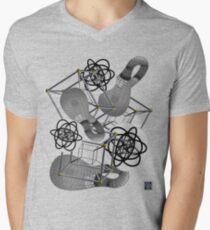 """Stereographic Klein Schlegel - GREY""© Men's V-Neck T-Shirt"