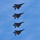 F-15 Strike Eagle squadron by Henry Plumley