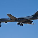 Rear shot of the B1-B Lancer Bomber by Henry Plumley