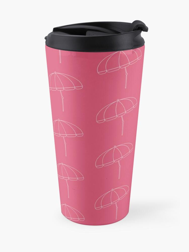 Alternate view of Beach Umbrella Travel Mug