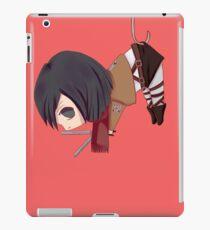 Mikasa in Safety Pin - Shingeki no Kyojin iPad Case/Skin