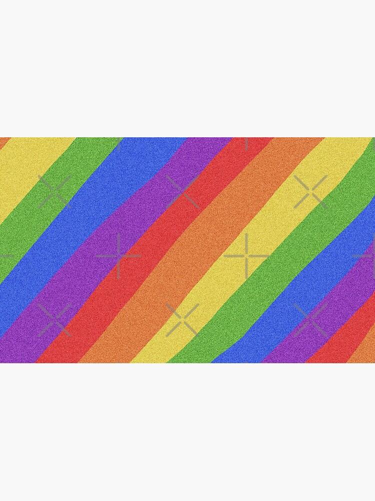Pride Month - Rainbow and Bright - International World Pride Gift - LGBT - LGBTQ - LGBTQIA by OneDayArt